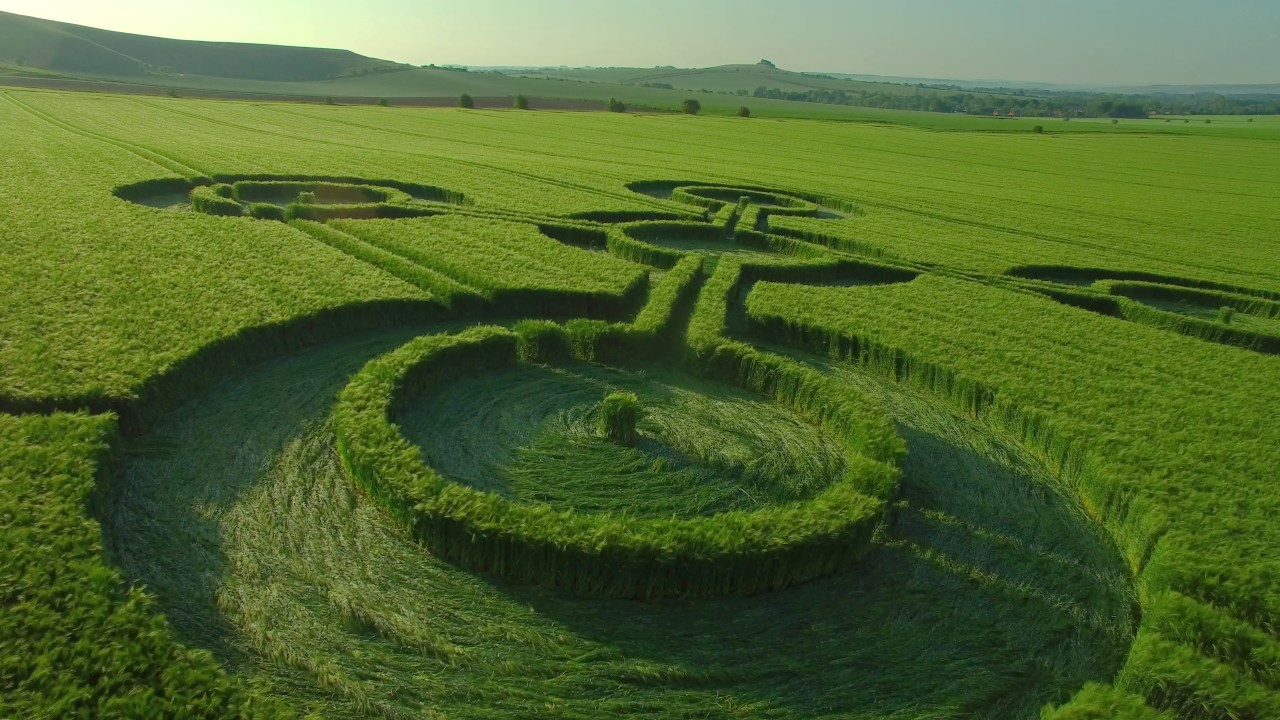 Crop circles have been appearing around the world for centuries