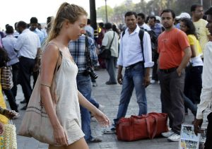 Foreign Tourists in India, My experiences in India