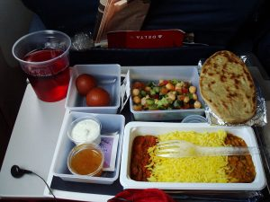 Indian Food Server on Airlines