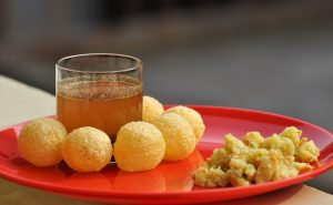 Panipuri (also known as Golgappe)