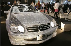 Diamond covered car. Picture courtesy | cloudmind.info