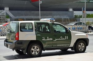 Dubai Police Vehicle