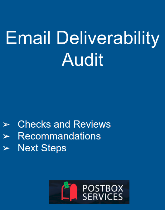Email Deliverability Consulting